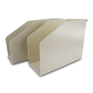 Filing & storage - plastic file support box 12.5cm A4