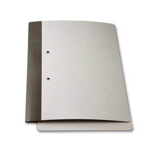 FO-14-M4 FSI 426 gsm extra heavy duty double laminated folder with springclip installed.