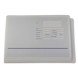 Codastyle extra large, heavy duty file folder.  NZ F/cap.