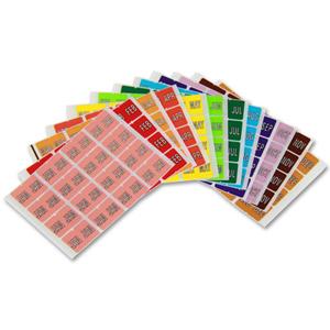 Colour coded filing - Month label - Starter Kit